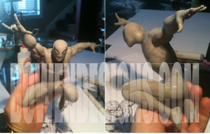 [Bowen Designs] New Amazing Spider-man Statue Sneak! Bowen-Designs-Amazing-Spider