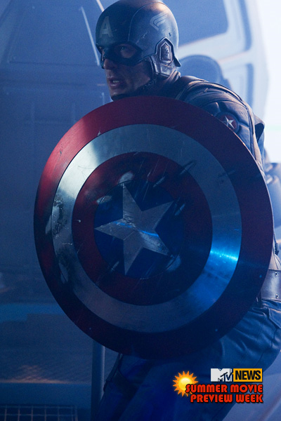captain america movie. NEW Captain America Movie Pic!