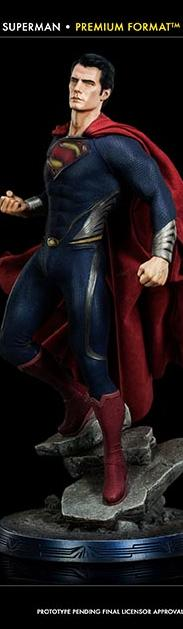 Sideshow Man of Steel Premium Format Figure