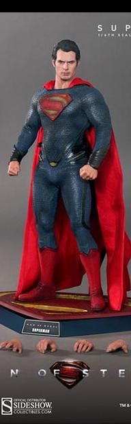 Hot Toys Man of Steel 1/6th Scale Collectible