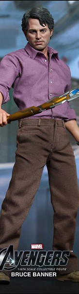 Hot Toys Bruce Banner 1/6 Scale Figure